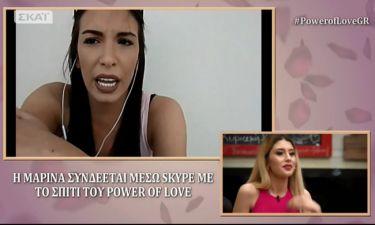 Power of love: Η Μπακοδήμου «στρίμωξε» την Μαρίνα για τον Νίκο και το περιβόητο φιλί
