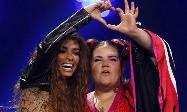 Eurovision 2018: Η αποκάλυψη της Φουρέιρα για την Ισραηλινή νικήτρια και η πριβέ κουβέντα τους