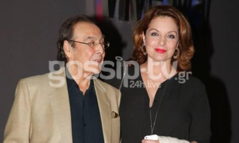 Τόλης Βοσκόπουλος: Η σπάνια δημόσια εμφάνιση με τη σύζυγό του και το δείπνο με καλούς φίλους