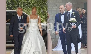 Ασημακοπούλου – Τσιρίλο: Σήμερα γάμος γίνεται! Η άφιξη του γαμπρού και η πανέμορφη νύφη