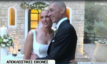 Ασημακοπούλου-Τσιρίλο: Οι δηλώσεις τους μετά τον γάμο και η απολαυστική στιγμή την ώρα του μυστηρίου