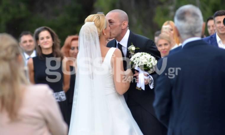 Ασημακοπούλου-Τσιρίλο: Το φωτογραφικό άλμπουμ του γάμου τους