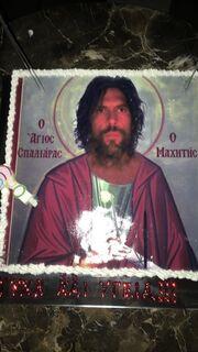Δείτε την απίστευτη τούρτα γενεθλίων του Γιάννη Σπαλιάρα