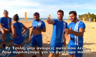 Survivor 2: «Σφαχτήκανε» Τσίλης-Αγόρου στον αγώνα της Ελλάδας με την Κολομβία
