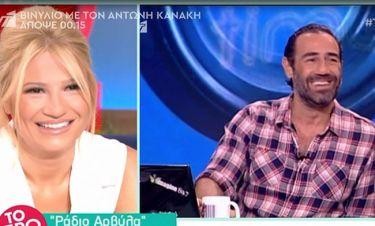 Αντώνης Κανάκης: Δε φαντάζεστε τι μαθαίνει στην κορούλα του!