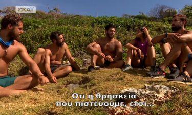 Survivor 2: Η ενόχληση του Αγόρου για τα σχόλια των Διασήμων περί θρησκείας και πανηγυρισμών