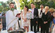 Μέρα χαράς για πασίγνωστο Έλληνα ηθοποιό! Το φωτογραφικό άλμπουμ από τη βάφτιση του γιου του!