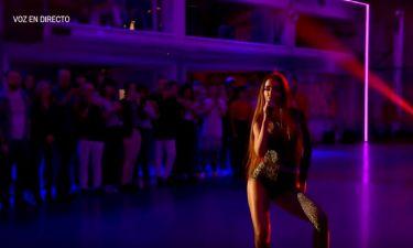 Η Φουρέιρα μαθαίνει να χορεύουν το Fuego στο μεγαλύτερο show της Ισπανικής τηλεόρασης