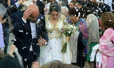 Νέες φωτό από το γάμο της ηθοποιού του Μπρούσκο και το πρώτο της μήνυμα μετά το μυστήριο