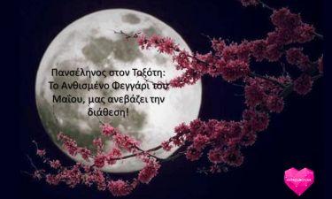 Πανσέληνος στον Τοξότη: Το Ανθισμένο Φεγγάρι του Μαΐου μας ανεβάζει τη διάθεση!