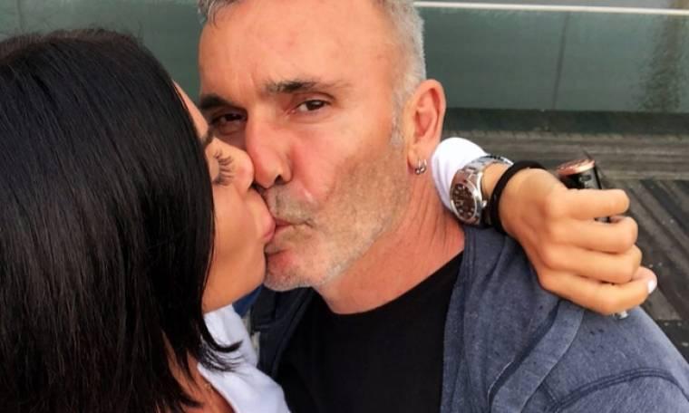 Στέλιος Ρόκκος – Έλενα Γκόφα: Tα καυτά φιλιά τους στους δρόμους της Γερμανίας