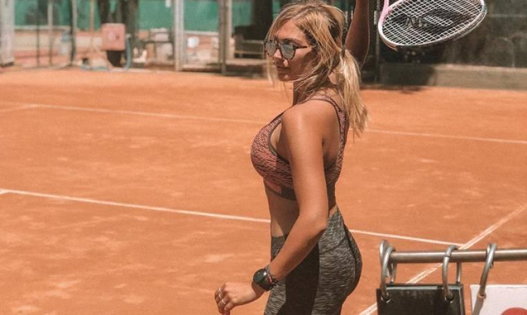 Η Queen Ντίνα το έριξε στο τένις