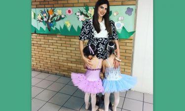 Σταματίνα Τσιμτσιλή: Η πρώτη έξοδος μετά τη γέννηση του γιου της και η φωτό με τις κόρες της