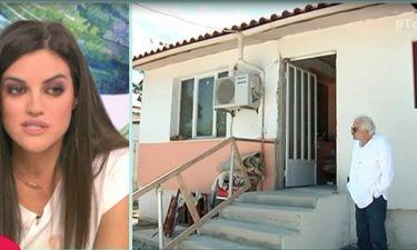 Εικόνες εξαθλίωσης για τον Σπύρο Φωκά: «Πρόσφατα έβαλαν πόρτες, το ταβάνι είναι πλαστικό...»