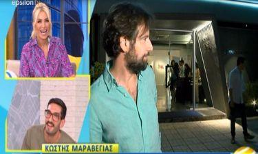 Τρελό Γέλιο! Ο Κωστής Μαραβέγιας έχασε την Τόνια του – Δείτε την ατάκα στους ρεπόρτερ