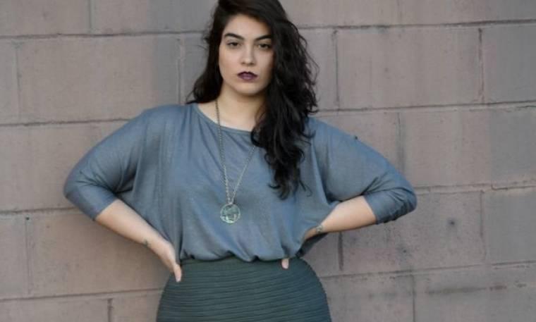 Το plus size model Nadia δηλώνει: « Πλέον, δεν με ορίζουν οι απόψεις των άλλων»