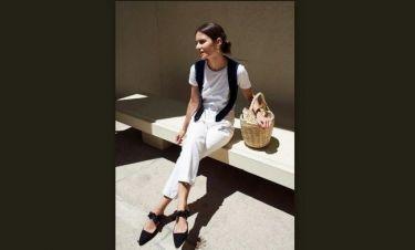 Trend alert: Η επιστροφή του λευκού τζιν στο καλοκαιρινό street style