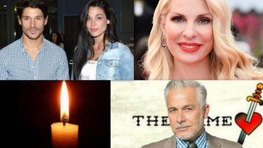 Η απώλεια γνωστού ηθοποιού, οι φωτό της Μενεγάκη και οι αποκαλύψεις του Βλάχου για τον χωρισμό του
