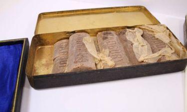 Σοκολάτες… 103 ετών βρέθηκαν σε κουτί στρατιώτη του Α' Παγκοσμίου Πολέμου