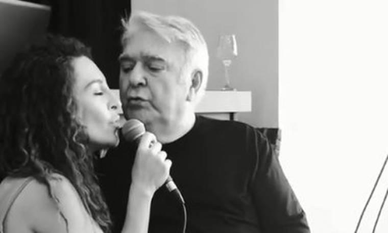 Σπάνια εμφάνιση! Ο Πασχάλης Τερζής τραγουδάει με την κόρη του