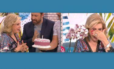 Λίτσα Πατέρα: Η έκπληξη για τα γενέθλια της στο πλατό και τα δάκρυα συγκίνησης!