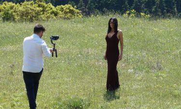 Κέλλυ Κελεκίδου: Στα γυρίσματα του νέου της βίντεο κλιπ!
