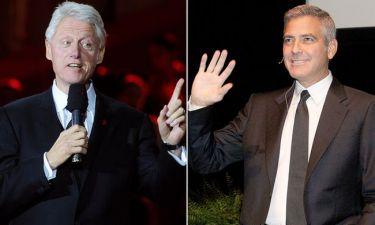 George Clooney: Θα υποδυθεί τον Bill Clinton