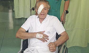 Ο Φλωρινιώτης στο νοσοκομείο για επέμβαση στο μάτι του