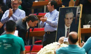 Σύσσωμος ο Παναθηναϊκός τίμησε τη μνήμη του Παύλου Γιαννακόπουλου (videos)