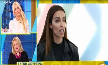 Τα «καρφιά» της Ελένης Φουρέιρα: «Πήγαινα κάθε χρόνο στην ΕΡΤ για την Eurovision αλλά…»