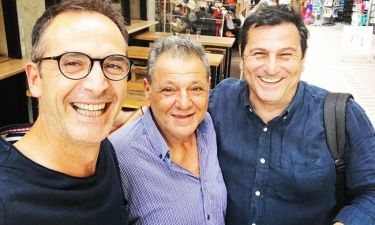 Κώστας Κρομμύδας: Τυχαία συνάντηση με Παρτσαλάκη- Αποστολίδη