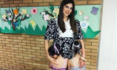 Σταματίνα Τσιμτσιλή: Η εντυπωσιακή τούρτα γενεθλίων της κόρης της, Μαίρης