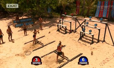 Survivor 2: Διάσημοι ή μαχητές; Δείτε ποια ομάδα κέρδισε το αγώνισμα ασυλίας