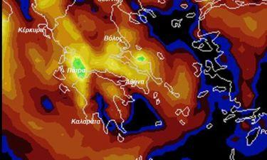 Προσοχή! Η έκτακτη προειδοποίηση του Σάκη Αρναούτογλου για τις καταιγίδες του Σαββάτου (χάρτης)