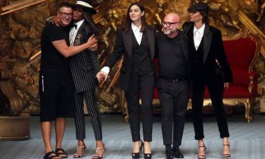 Dolce & Gabbana: Μπελούτσι και Κάμπελ «κατέκτησαν» την πασαρέλα