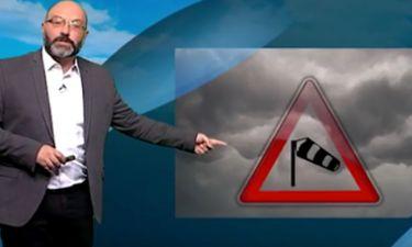 Σάκης Αρναούτογλου: «Προσοχή την Τρίτη...». Η προειδοποίηση για καταιγίδες (Photos)