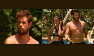 Survivor 2: Η «συγγνώμη» του Τσίλη στον Αγόρου και η αντίδρασή του