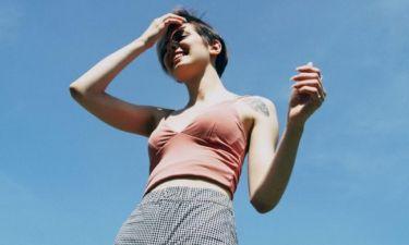 Tips για να μειώσεις την εφίδρωση αυτό το καλοκαίρι