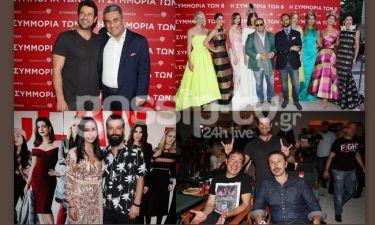 Πρεμιέρα για την ταινία «Η συμμορία των 8» με Fashion Show του Βασίλη Ζούλια