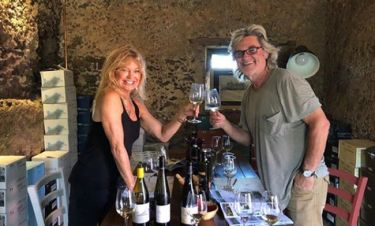 Goldie Hawn- Kurt Russel: Συνεχίζουν τις διακοπές τους στη Σκιάθο