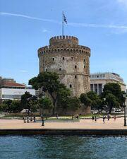 Σίσσυ Χρηστίδου: Οι βόλτες της στη Θεσσαλονίκη
