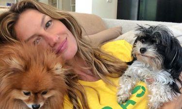 H Ζιζέλ... ξέσπασε μετά τη νίκη της Βραζιλίας και έριξε το instagram! (vid)