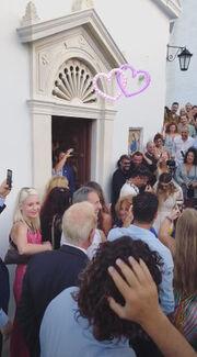 Χρανιώτης - Αβασκαντήρα: Οι πρώτες εικόνες από τον γάμο τους στην Τήνο!