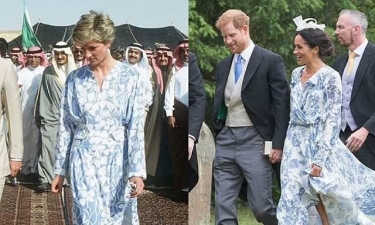 Η Megan Markle αντιγράφει το ντύσιμο και το στιλ της πριγκίπισσας Νταϊάνα – Οι 5 ίδιες εμφανίσεις
