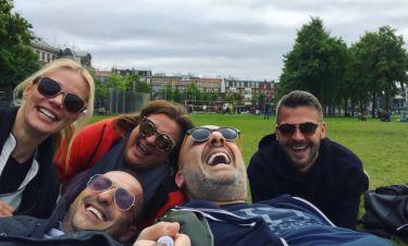 Μακρυπούλια – Μουτσινάς – Κωνσταντινίδου – Αλευράς – Δάσκαλος: Ταξίδεψαν στο Άμστερνταμ