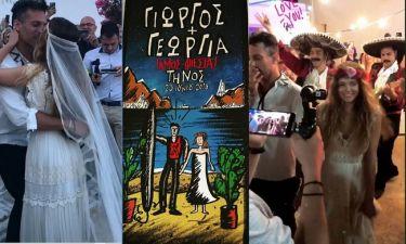 Γιώργος Χρανιώτης: Πόσταρε το προσκλητήριο μετά το γάμο – Βίντεο από το γάμο και το γλέντι