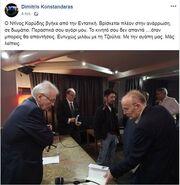 Βγήκε από την εντατική ο Ντίνος Καρύδης