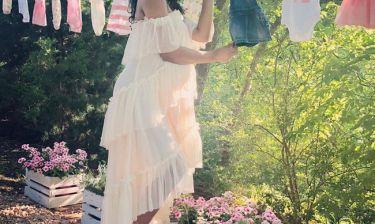Είναι κορίτσι! Στο baby shower η διάσημη μέλλουσα μαμά αποκάλυψε το φύλο του μωρού της (pics)