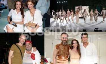 Λαμπερές παρουσίες στην πρεμιέρα της «Αντιγόνης» στο Κηποθέατρο Παπάγου