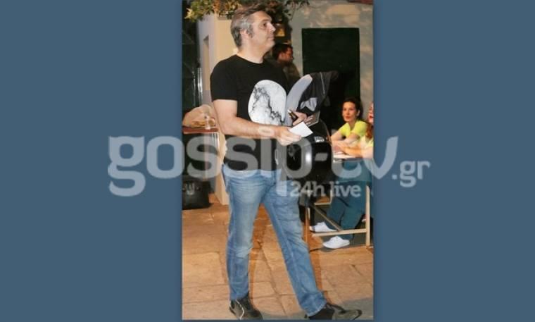 Άλκης Κούρκουλος: Η πρώτη δημόσια εμφάνιση μετά τις φήμες χωρισμού
